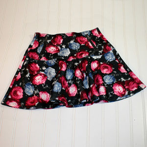 Girls ABERCROMBIE KIDS Floral Skater Skirt